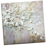 Portfolio Canvas White Elegance by Carson Painting Print on Wrapped Canvas
