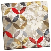 Portfolio Canvas Golden Prism w/ Red I by Karen Margulis Painting Print on Wrapped Canvas