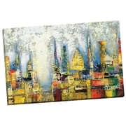 Portfolio Canvas Neon Jungle by Dominick Painting Print on Wrapped Canvas
