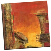 Portfolio Canvas Brass and Strings II by Dupre Painting Print on Wrapped Canvas