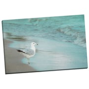 Portfolio Canvas By the Sea by Elizabeth Urquhart Graphic Art on Wrapped Canvas