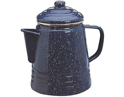 Coleman Percolator 9 Cup Enameware Coffee Maker WYF078277787398