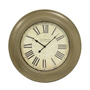 Decor Therapy Classic Glenmont 24'' Wall Clock