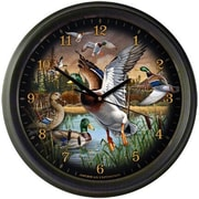 AmericanExpedition Mallard Collage 16'' Wall Clock