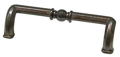 Richelieu 3 7/9'' Center Bar Pull; Shiny Spotted Bronze WYF078278019893