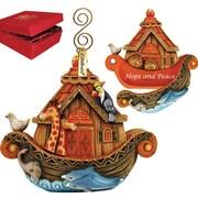 G Debrekht Derevo Noah's Ark Ornament Surprise Box