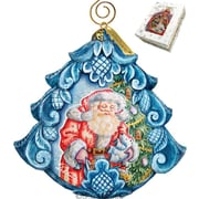 G Debrekht Derevo Gift Giving Pleasure Scenic Ornament