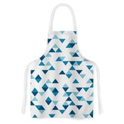 KESS InHouse Triangles by Project M Artistic Apron