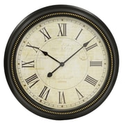 Decor Therapy Postcard Roman 22'' Wall Clock