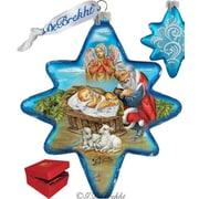 G Debrekht Holiday Limited Edition Adoration North Star Glass Ornament