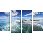 FramedCanvasArt 'Dreamscape 2' by Cameron Brooks 4 Piece Photographic Print on Wrapped Canvas Set