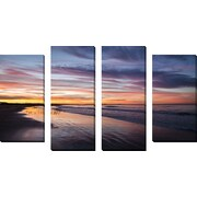 FramedCanvasArt 'Birdrise' by Chris Moyer 4 Piece Photographic Print on Wrapped Canvas Set
