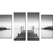 FramedCanvasArt 'Leuty' by Dave MacVicar 4 Piece Photographic Print on Wrapped Canvas Set