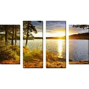 FramedCanvasArt 'Algonquin' by Elena Elisseeva 4 Piece Photographic Print on Wrapped Canvas Set