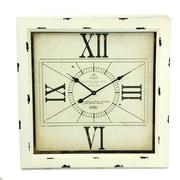 Winward Designs Square w/ 4 Roman Numeral Wall Clock