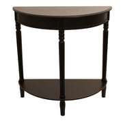 J. Hunt Home Simplify Console Table; Eased Edge Black