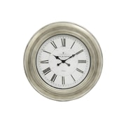 Decor Therapy Caf  de Rouge 24'' Wall Clock