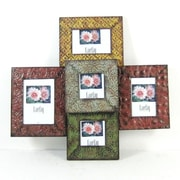 Firefly Home Collection Squares w/ Picture Insert Wall Decor Picture Frame