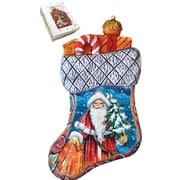 G Debrekht Derevo Christmas Angels Stocking Ornament