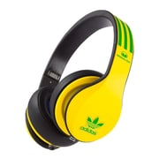 Monster® Adidas Originals Over-Ear Headphones Yellow Green