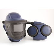Sundstrom Safety PAPR Kit Complete with Hard Hat & Welding Shield, SR 500/580/584, Blue (H06-8421)