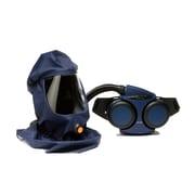 Sundstrom Safety PAPR Kit Complete with Loose-Fitting Hood, SR 500/540, Medium/Large, Blue (H06-0921)