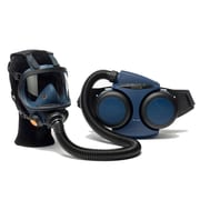 Sundstrom Safety PAPR Kit Complete with Tight-Fitting Full Face Mask, SR 500/200, Medium/Large, Blue (H06-0821)