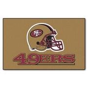 FANMATS NFL - San Francisco 49ers Tailgater Mat; 5' x 8'