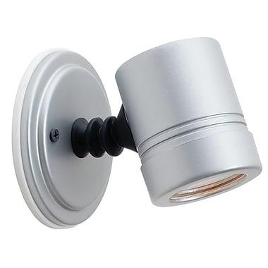 Access Lighting Myra 1 Light Outdoor Spotlight; Silver