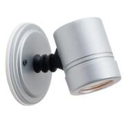 Access Lighting Myra 1 Light Outdoor Adjustable Spot Light; Silver