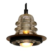 Railroadware Insulator light Pendant Metal ring 5 , 20V 40W, dimming