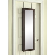 Hives & Honey Paige Over the Door Jewelry Armoire with Mirror