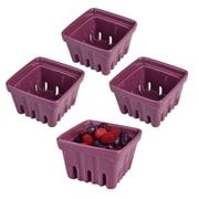 Artland Berry Basket (Set of 4); Purple