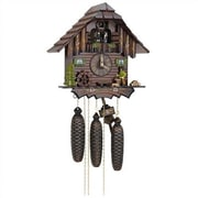 Schneider 12.5'' 8-Day Movement Cuckoo Clock w/ Wood Chopper