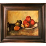 Tori Home Still Life with Apples Canvas Art