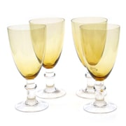 Certified International Glass Stemware 16 Oz. Stemmed Water Glass (Set of 4)