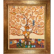 Tori Home Klimt Tree of Life Hand Painted Oil on Canvas Wall Art