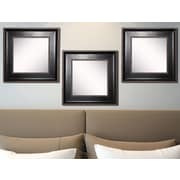 Rayne Mirrors Ava Caged Trim Wall Mirror (Set of 3)