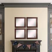 Rayne Mirrors Ava Country Pine Wall Mirror (Set of 4)