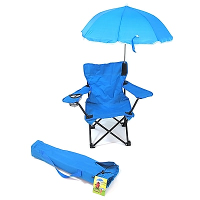 Redmon for Kids Kids Camp Chair; Light Blue