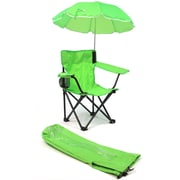 Redmon for Kids Kids Camp Chair; Lime Green