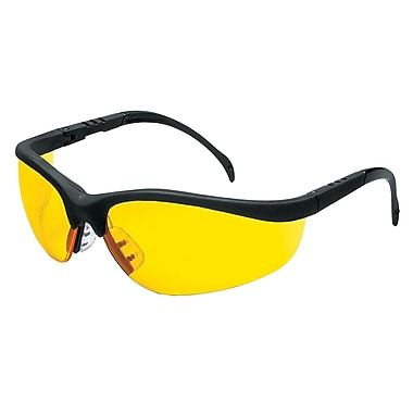 MCR Safety® Klondike® Crews ANSI Z87 Protective Glasses, Amber
