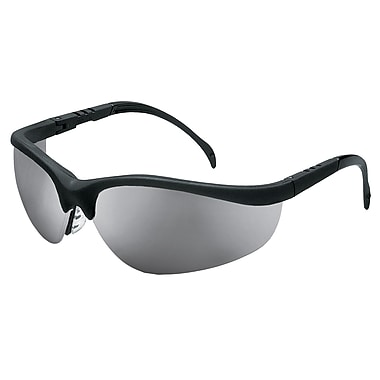 MCR Safety® Klondike® Crews ANSI Z87 Safety Glasses, Silver Mirror