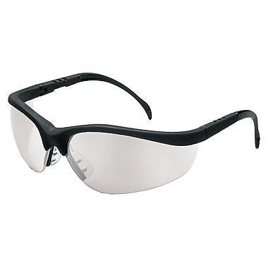 MCR Safety® Klondike® Crews ANSI Z87 Protective Glasses, Indoor/Outdoor Clear Mirror
