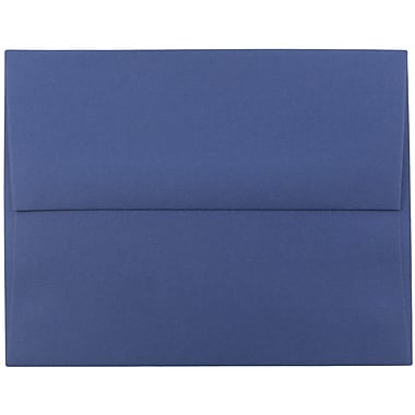 JAM Paper® A2 Invitation Envelopes, 4 3/8 x 5 3/4, Presidential Blue, 25/pack (563913396)