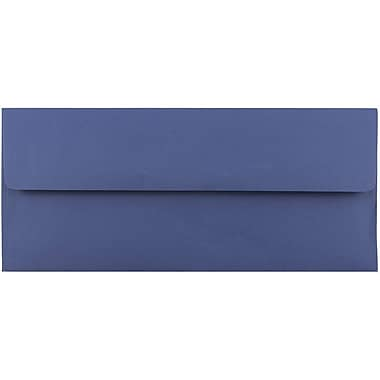 JAM Paper® #10 Business Envelopes, 4 1/8 x 9 1/2, Presidential Blue, 1000/carton (463916900B)