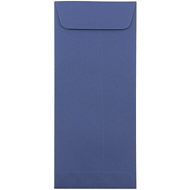 JAM Paper® #10 Policy Envelopes, 4 1/8 x 9 1/2, Presidential Blue, 1000/carton (263912999B)