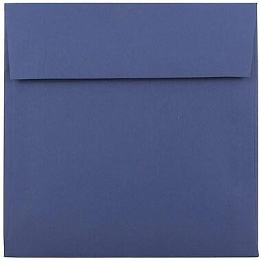 JAM Paper® 6 x 6 Square Envelopes, Presidential Blue, 1000/carton (563916914B)