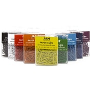 JAM Paper® Colored Standard Paper Clips, Small, Assorted Paperclips, 9 packs of 100 clips, 900/pack (221812620)