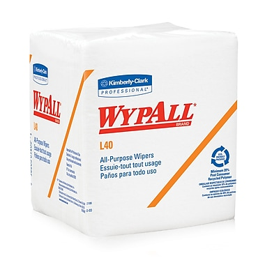 Kimberly Clark® WypAll® L40 Wipers, 18/Case